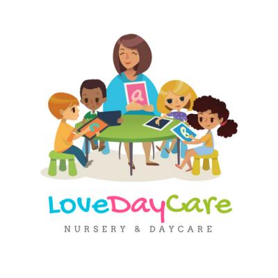 LoveDayCare logo and branding