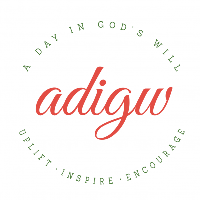 A Day in God's Will logo and branding
